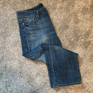 Lucky Brand Easy Rider Crop Jeans, size 14